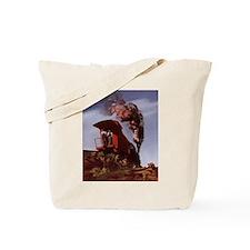 Cute Caboose Tote Bag