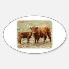 Highland Cow and calf 9Y316D-045 Decal