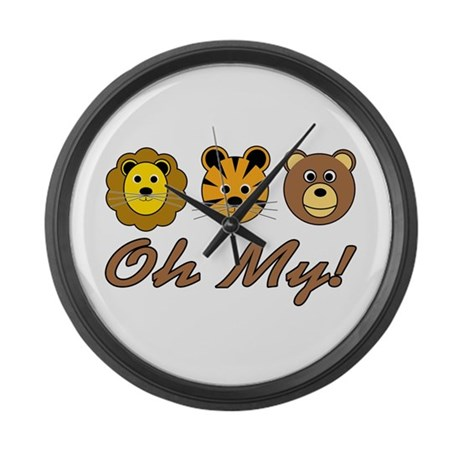 OZ: Oh My! Large Wall Clock