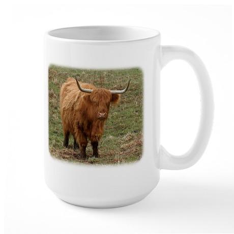 Highland Cow 9Y316D-053 Large Mug