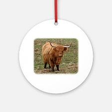 Highland Cow 9Y316D-053 Ornament (Round)