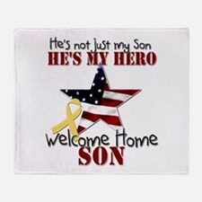 He's not just my Son, He's my Throw Blanket