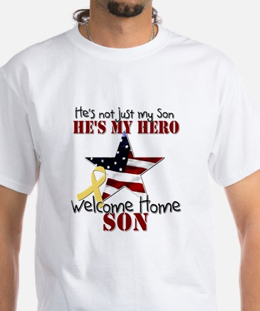 He's not just my Son, He's my White T-Shirt