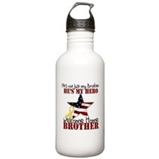 He's not just my Brother, He' Water Bottle