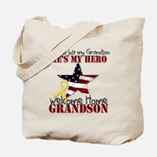He's not just my Grandson, He Tote Bag
