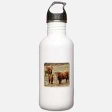 Highland Cattle 9Y316D-055 Water Bottle