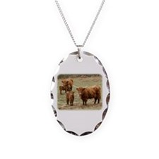 Highland Cattle 9Y316D-055 Necklace