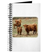 Highland Cattle 9Y316D-055 Journal