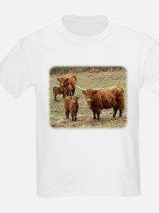 Highland Cattle 9Y316D-055 T-Shirt