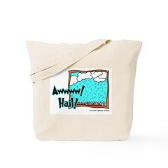 Aww Hail Storm Tote Bag