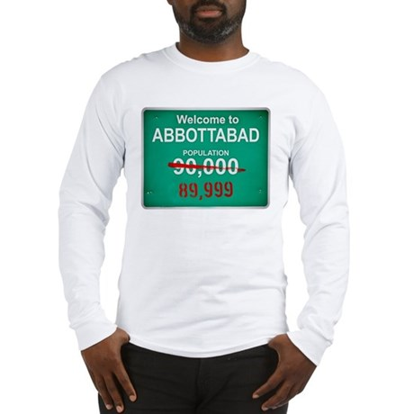 Welcome to Abbottabad Long Sleeve T-Shirt