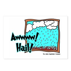 Aww Hail Storm Postcards (Package of 8)