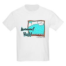 Aww Hail Storm Kids T-Shirt