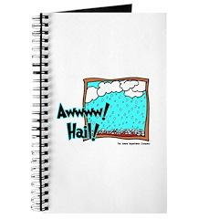 Aww Hail Storm Journal