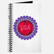 USA Ruby Heart Journal