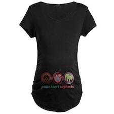 PEACE HEART ELEPHANTS T-Shirt