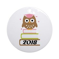 2018 Top Graduation Gifts Ornament (Round)