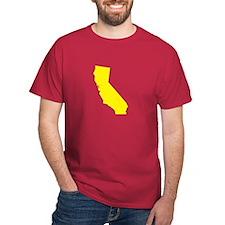 Yellow California T-Shirt