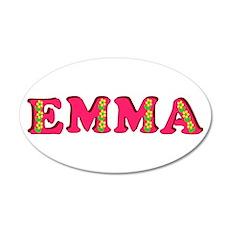 Emma 22x14 Oval Wall Peel