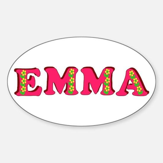 Emma Sticker (Oval)