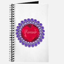 Forever Ruby Heart Journal