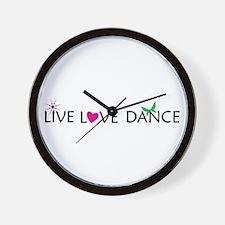Cute Live love Wall Clock