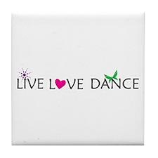 Unique Dance Tile Coaster