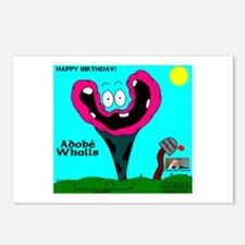 Adobe Whalls Postcards (Package of 8)