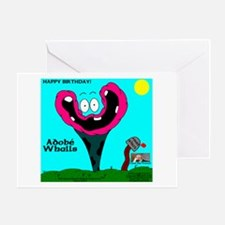 Adobe Whalls Greeting Card