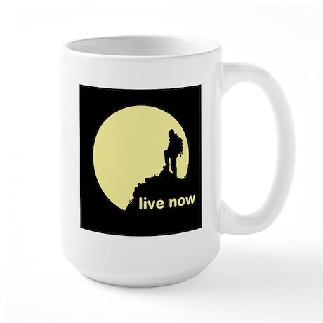 Live Now Large Mug
