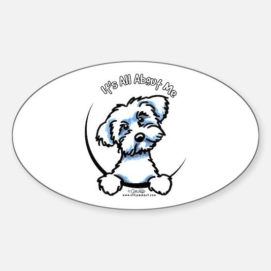 Maltese IAAM Sticker (Oval)
