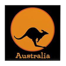 Aussie Sun Tile Coaster