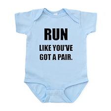 RUN Infant Bodysuit