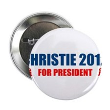 """CHRIS CHRISTIE FOR PRESIDENT 2.25"""" Button (10 pack"""