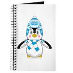 Cute Wooly Hat Penguin Journal