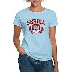 Serbia Women's Light T-Shirt