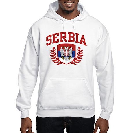 Serbia Hooded Sweatshirt