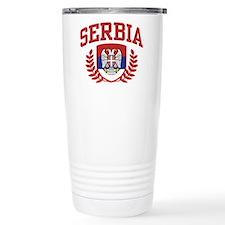 Serbia Travel Mug