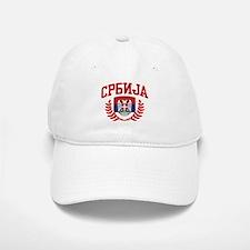 Serbia Baseball Baseball Cap