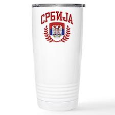 Serbia Travel Coffee Mug