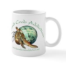 Hermit Crab Addiction Logo Small Mug