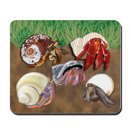 5 crabs Mousepad