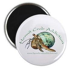 Hermit Crab Addiction Magnet