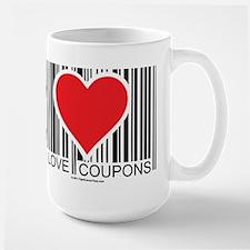 I Love Coupons Mug