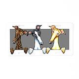 Greyhound License Plates
