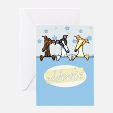 Greyhound Lover Greeting Card