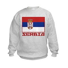 Flag of Serbia Sweatshirt