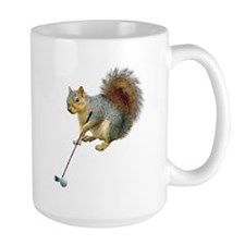 Golfing Squirrel Mug