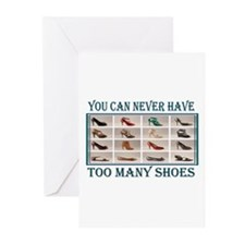 JUST ONE MORE PAIR Greeting Cards (Pk of 20)