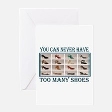JUST ONE MORE PAIR Greeting Card